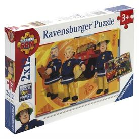 Sam a tűzoltó 2 x 12 darabos puzzle