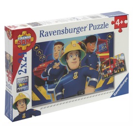 Sam a tűzoltó 2 x 24 darabos puzzle