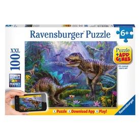 Puzzle 100 db - T-Rex +App Itt egy ajánlat található, a bővebben gombra kattintva, további információkat talál a termékről.