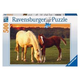 Gyönyörű lovak 500 darabos puzzle