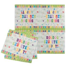 Boldog szülinapot szalvéta 16 darabos - 33 x 33 cm Itt egy ajánlat található, a bővebben gombra kattintva, további információkat talál a termékről.