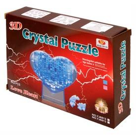 Szív 40 darabos kristály puzzle - kék Itt egy ajánlat található, a bővebben gombra kattintva, további információkat talál a termékről.