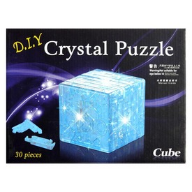 3D kristály puzzle - kocka - 30 db, 3 féle Itt egy ajánlat található, a bővebben gombra kattintva, további információkat talál a termékről.