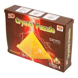 Piramis 38 darabos világító kristály puzzle - többféle Itt egy ajánlat található, a bővebben gombra kattintva, további információkat talál a termékről.