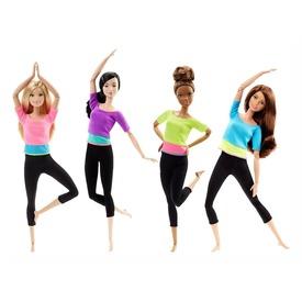 Barbie: hajlékony jógababa - többféle Itt egy ajánlat található, a bővebben gombra kattintva, további információkat talál a termékről.
