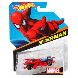 Hot Wheels Marvel karakter kisautók BDM