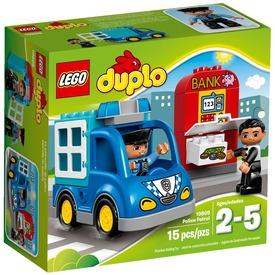 LEGO DUPLO Rendőrjárőr 10809 Itt egy ajánlat található, a bővebben gombra kattintva, további információkat talál a termékről.