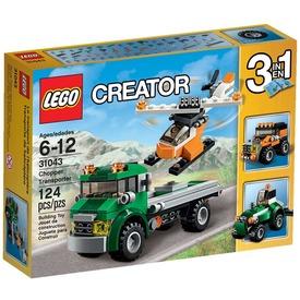 LEGO Creator Helikopterszállító kamion 31043 Itt egy ajánlat található, a bővebben gombra kattintva, további információkat talál a termékről.