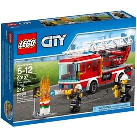 LEGO® City Létrás tűzoltóautó 60107 Itt egy ajánlat található, a bővebben gombra kattintva, további információkat talál a termékről.