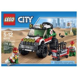 LEGO City 4x4 terepjáró 60115 Itt egy ajánlat található, a bővebben gombra kattintva, további információkat talál a termékről.