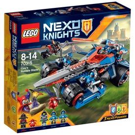 LEGO Nexo Knights Clay dübörgő pengéje 70315 Itt egy ajánlat található, a bővebben gombra kattintva, további információkat talál a termékről.
