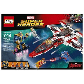 LEGO Super Heroes Avenjet űrkaland 76049 Itt egy ajánlat található, a bővebben gombra kattintva, további információkat talál a termékről.