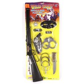 Cowboy puska és kiegészítő készlet