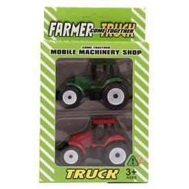 Farm traktor 2 darabos készlet - 8 cm