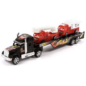 Tűzoltóautó szállító kamion - 43 cm Itt egy ajánlat található, a bővebben gombra kattintva, további információkat talál a termékről.