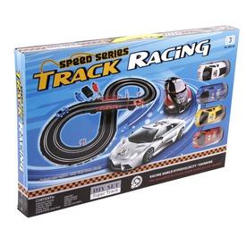 Track Racing elektromos autópálya - 280 cm