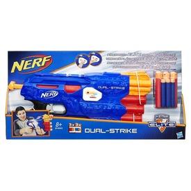 NERF N-Strike Elite Dual Strike szivacslövő fegyver Itt egy ajánlat található, a bővebben gombra kattintva, további információkat talál a termékről.