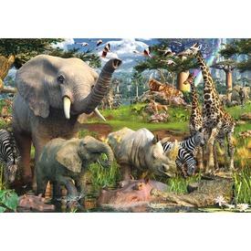 Dzsungel 18000 darabos puzzle