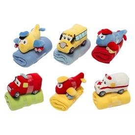 Plüss bébi jármű és takaró 4féle 4szín Itt egy ajánlat található, a bővebben gombra kattintva, további információkat talál a termékről.