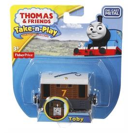 Thomas egyes mozdony kicsi Toby CBL Itt egy ajánlat található, a bővebben gombra kattintva, további információkat talál a termékről.