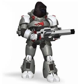 Papo gorilla harcos 70124