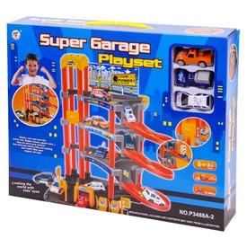 Super négyemeletes parkolóház 3 autóval