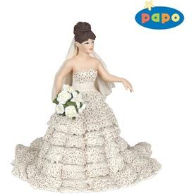Papo menyasszony csipkeruhában 38819