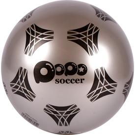 Fényes foci mintás gumilabda - 22 cm
