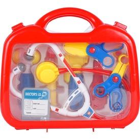 Orvosi táska 9 darabos készlet - piros