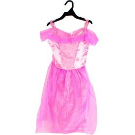 Balerina jelmez - rózsaszín, 116-os méret