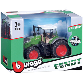 Bburago traktor New Holland / Fendt 10 cm