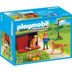 Playmobil Golden retriever család gazdival 6134