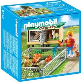 Playmobil Nyuszi karám gondozóval 6140