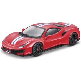 Bburago Ferrari 488 Pista versenyautó 1:43