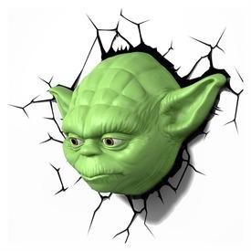 Star Wars: Az ébredő Erő 3D LED fali lámpa - Yoda Itt egy ajánlat található, a bővebben gombra kattintva, további információkat talál a termékről.