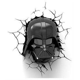 Star Wars: Az ébredő Erő 3D LED fali lámpa - Darth Vader