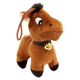 Ló álló plüssfigura - 11 cm