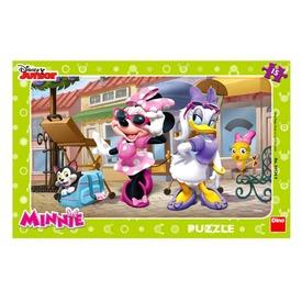 Minnie egér Párizsban 15 darabos puzzle