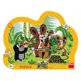 Kisvakond és a zenekar 25 darabos puzzle