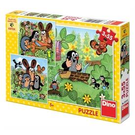 Kisvakond és barátai 3 x 55 darabos puzzle Itt egy ajánlat található, a bővebben gombra kattintva, további információkat talál a termékről.
