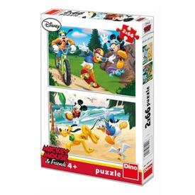 Mikiegér 2 x 66 darabos puzzle