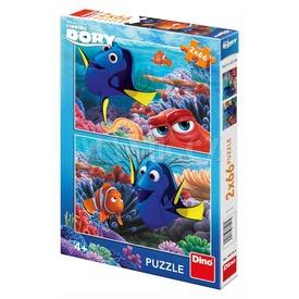 Szenilla nyomában 2 x 66 darabos puzzle Itt egy ajánlat található, a bővebben gombra kattintva, további információkat talál a termékről.