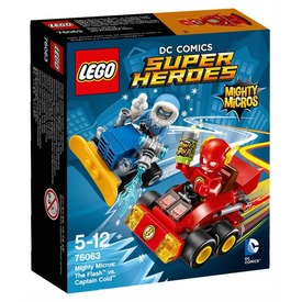 LEGO Super Heroes 76063 Mighty Micros: Flash Cold kapitány ellen