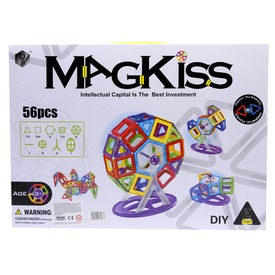 MagKiss 56 darabos mágneses építőjáték Itt egy ajánlat található, a bővebben gombra kattintva, további információkat talál a termékről.