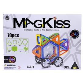 MagKiss 70 darabos mágneses építőjáték