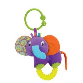 Elefánt plüss rágóka