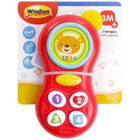 Maci zenélő bébi mobiltelefon Itt egy ajánlat található, a bővebben gombra kattintva, további információkat talál a termékről.