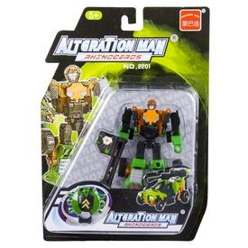 Alteration Man Rhenoceros átalakuló robot - 10 cm