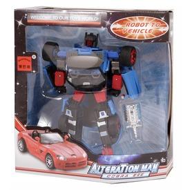 Alteration Man átalakuló robot - 20 cm, többféle Itt egy ajánlat található, a bővebben gombra kattintva, további információkat talál a termékről.