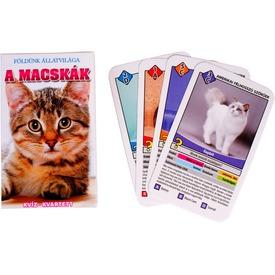 Macskák ismeretterjesztő kártya Itt egy ajánlat található, a bővebben gombra kattintva, további információkat talál a termékről.